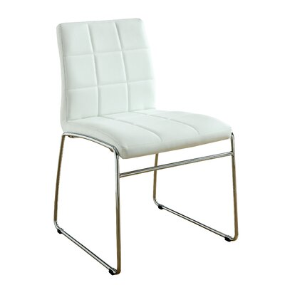 Rockaway Nick Side Chair Finish: White