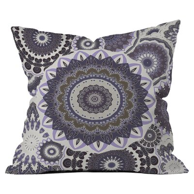 Boho Winter Nights Outdoor Throw Pillow Size: 18 H x 18 W
