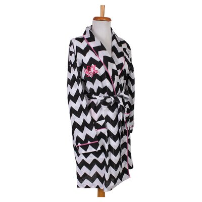 Personalized Chevron Robe