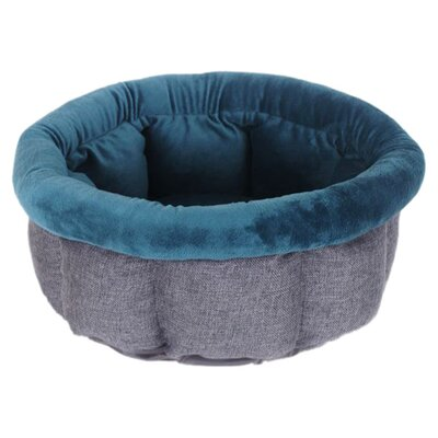 Cuddle Cup Tweed Dog Bed / Cat Bed Color: Ocean