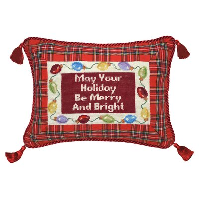 Merry & Bright Wool Lumbar Pillow