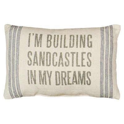 Sandcastles Pillow