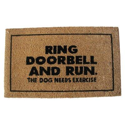 Ring Door Bell Doormat