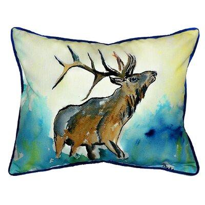 Betsy Drake Interiors Lodge Elk Indoor / Outdoor Pillow at Sears.com