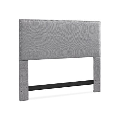 Mannion Upholstered Panel Headboard Size: California King