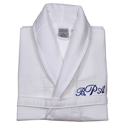 Personalized Waffle Bathrobe Size: Small/Medium