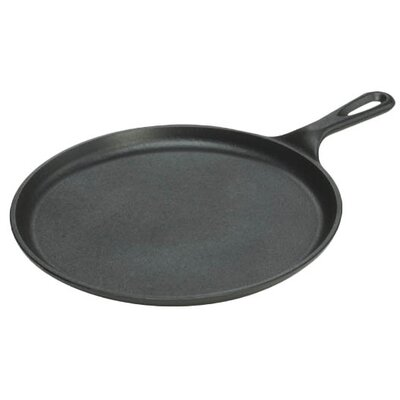 "Lodge Manufacturing 10.5"" Cast-Iron Griddle PartNumber: 00844065000P KsnValue: 64057798 MfgPartNumber: L9OG3"
