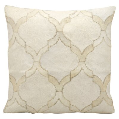 Nancy Cowhide Pillow