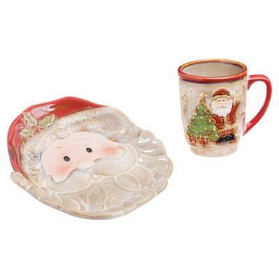 Cookies for Santa Gift 2 Piece Place Setting p327001
