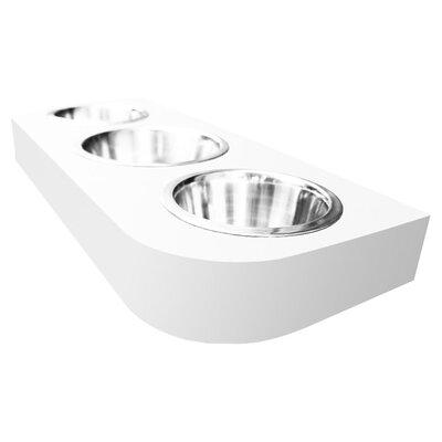 Deanna Triple Bowl Pet Diner