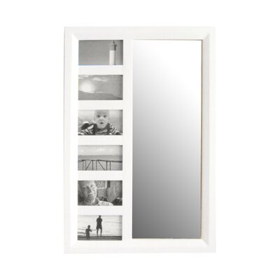 Bellissimo Wall Mounted Jewelry Armoire with Mirror Finish: White