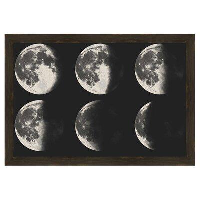Moon Phase Framed Giclee Print 6-3497