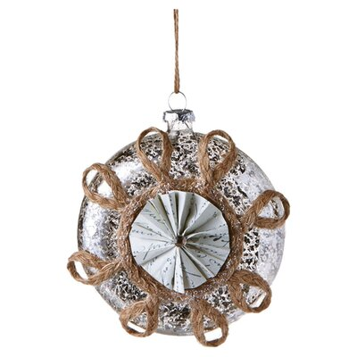 Rustic Snowflake Ornament (Set of 6) 109159