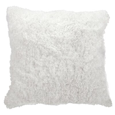 Cynitria Throw Pillow Color: White