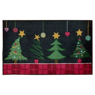 Christmas Tree Door Mat