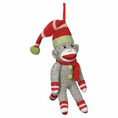 Sock Monkey Ornament 40928