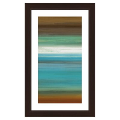 Waters Framed Graphic Art 2-12977A