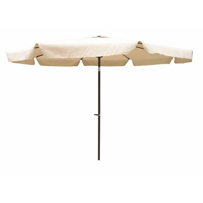 10 St. Kitts Drape Umbrella Fabric: Beige