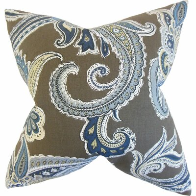 Kennedy Reversible Cotton Throw Pillow Size: 24 x 24