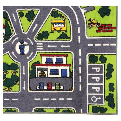 Fun Time Around Town Road Area Rug Rug Size: 33 x 410