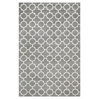 Catherine Rug in Dark Grey Size: 3 x 5