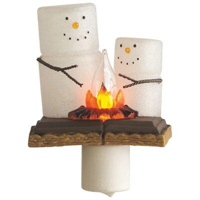 Smore Snowmen Night Light