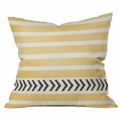 Sansa Outdoor Throw Pillow (Set of 2) Size: 16 H x 16 W x 4 D