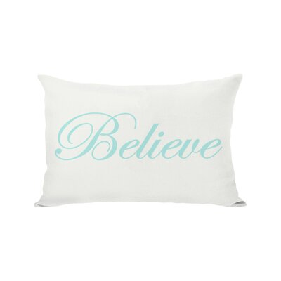 Holiday Believe Reversible Lumbar Pillow