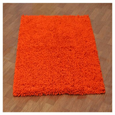 Baugh Orange Kids Area Rug Rug Size: Rectangle 4 x 6