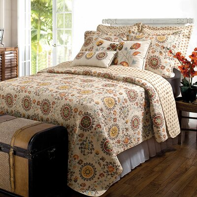 5-Piece Vega Quilt Set Size: Full/Queen
