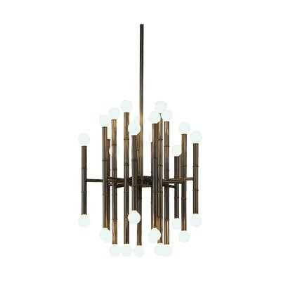 Jonathan Adler Meurice 30-Light Sputnik Chandelier Finish: Deep Patina Bronze