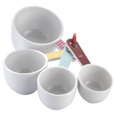 4-Piece Melamine Measuring Cup Set by Cake Boss 59587
