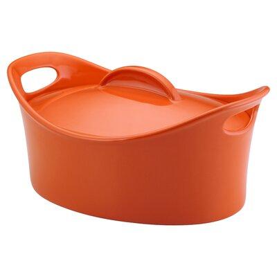 Rachael Ray 4.25-Quart Casserole in Orange 55245