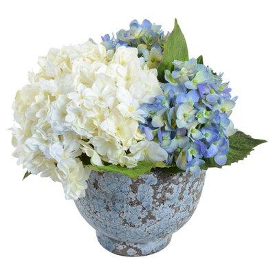 Faux Hydrangea Flower in Pot 19710LW.30