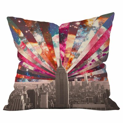 Superstar New York Pillow Size: 16 x 16