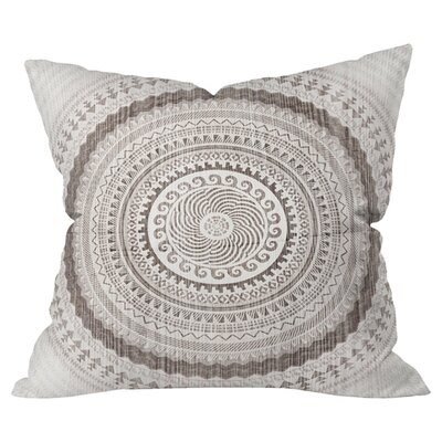 Winter Wheat Outdoor Throw Pillow Size: 18 H x 18 W