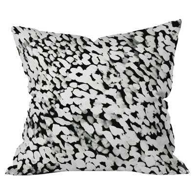 Like Snow Outdoor Throw Pillow Size: 18 H x 18 W