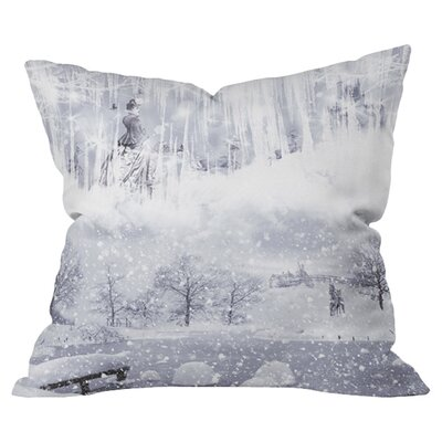 Snow Queen Outdoor Throw Pillow Size: 18 H x 18 W