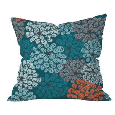 Greenwich Gardens Throw Pillow Size: 18 H x 18 W