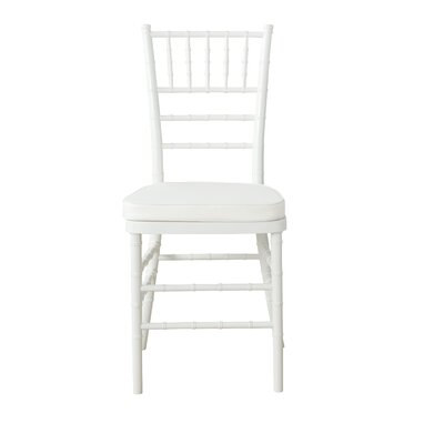 Jefferson Place Side Chair Finish: White