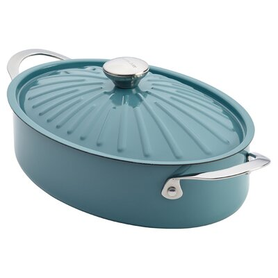5-Quart Stainless Steel Casserole in Blue by Rachael Ray 16296