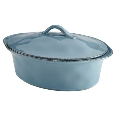 Stoneware Casserole Dish in Agave Blue by Rachael Ray 58325