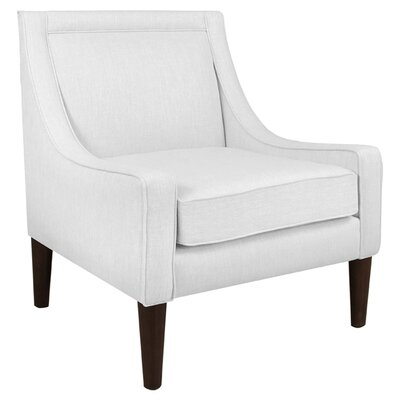 Theodosia Armchair Upholstery: Twill White