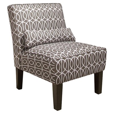Thurston Slipper Chair Upholstery: Bella Porte Brindle