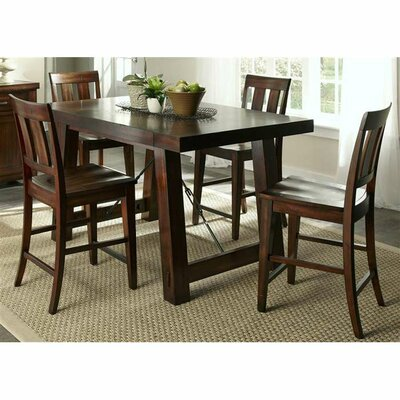 Tahoe Casual 5 Piece Counter Height Dining Set