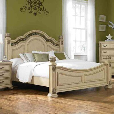 Messina Platform Bed Size: King