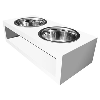 Bingham Double Bowl Pet Diner