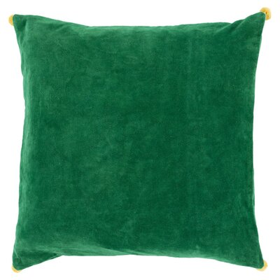 Kora Velvet Pillow Cover Size: 18 x 18