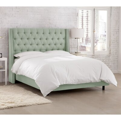 Kennedy Upholstered Panel Bed Size: King