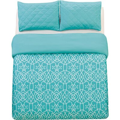 3-Piece Kit Duvet Set Size: Queen